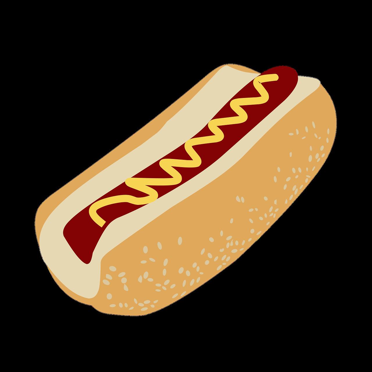 bun, dog, hot